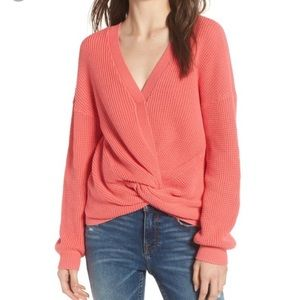 BP coral sweater